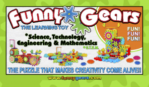 Funny Gears/ Funny Bricks Gear Toys- Buy one get one FREE! Limited offer!