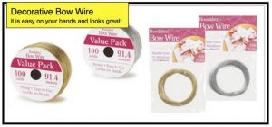 Decorative Bow Wire
