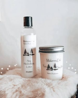 Makenna Del Nature Products ~ All Natural Soy Candles and Lotions